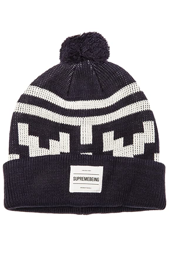 d7e1a728a43 Supremebeing Men s Hollis Beanie One Size Blue at Amazon Men s Clothing  store