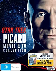 Star Trek: Jean-Luc Picard TV + Movie Collection (Star Trek: Generations/First Contact/Insurrection/Nemesis/Next Gen: Chain Of Command & Best Of Both Worlds) - [6 Disc] (Blu-ray)