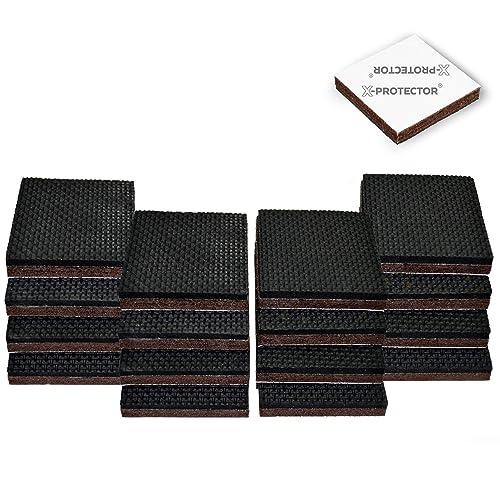 Premium Furniture Pads,Thick Non-Slip Rubber (No Glue Or