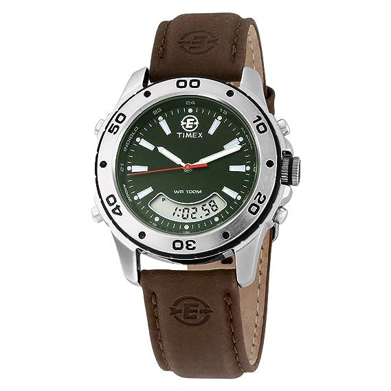Timex De los hombres Expedición t45201 multifunción analógico y reloj digital Combo: Timex: Amazon.es: Relojes