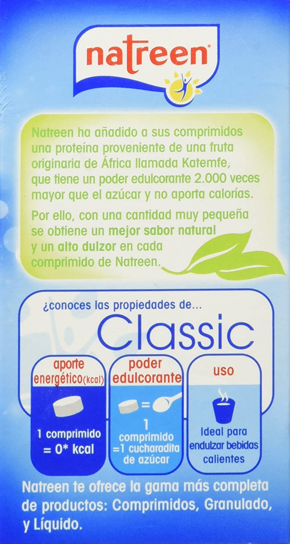 Natreen Classic - Edulcorante Dispensador - 400 comprimidos ...