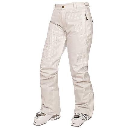 Trespass Payton Pantalon De Ski Femme Xl Blanc Amazon Fr
