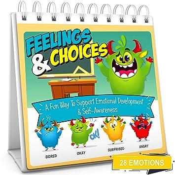 Amazon.com: Feelings & Choices Flip Book | Enseñar 28 ...