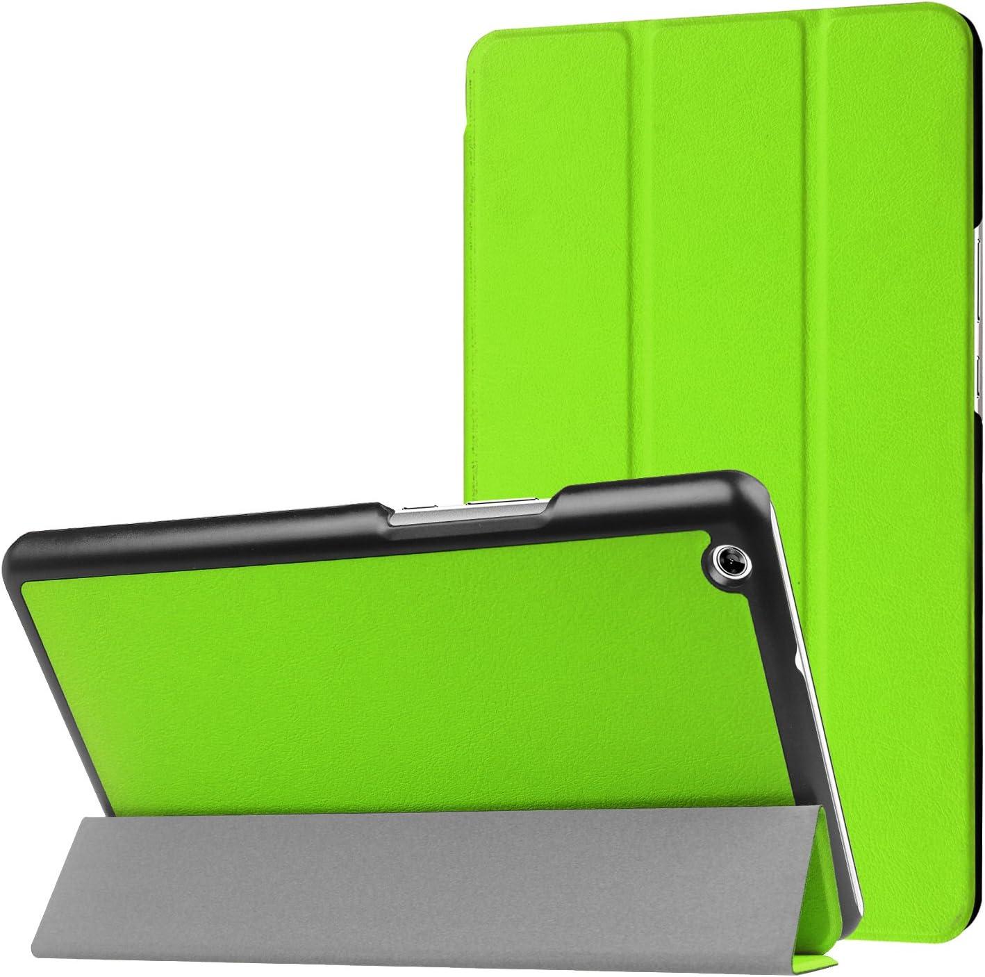 MediaPad M3 Lite 8.0 Case Heavy Duty Ultra Lightweight Slim Smart shell Stand Cover Case Auto Sleep blue Wake Up for Huawei MediaPad M3 Lite 8.0 Inch Tablet