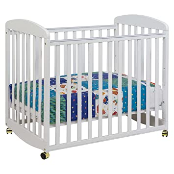 DaVinci Alpha Mini Rocking Crib   White