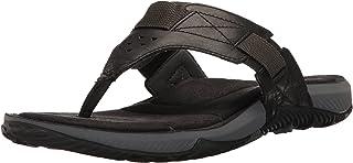 Merrell Men's Terrant Thong Sandal, Black, 15 M US J91531