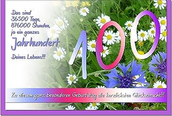 schöne sprüche zum 100 geburtstag