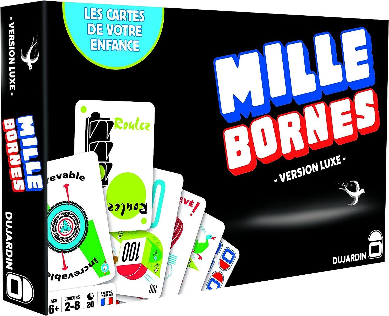 Dujardin - Juego de mesa 1000 Bornes, Serie negro, El juego del ...