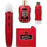 Gardner Bender GK-5 Household Tester Electrical Test Kit, Red