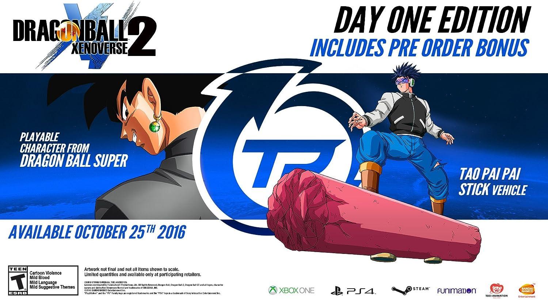 Amazon com: Dragon Ball Xenoverse 2 - PlayStation 4 Day One Edition
