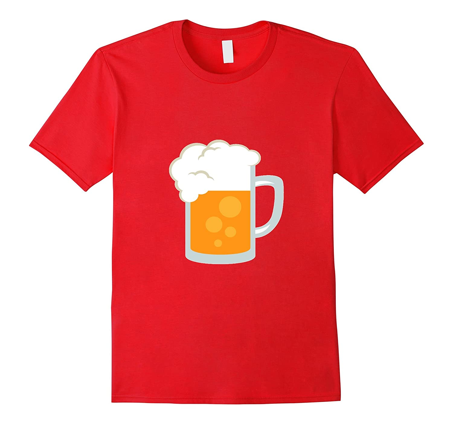 Beer Emoji T-Shirt Pitcher Drink Mug Drunk-CL