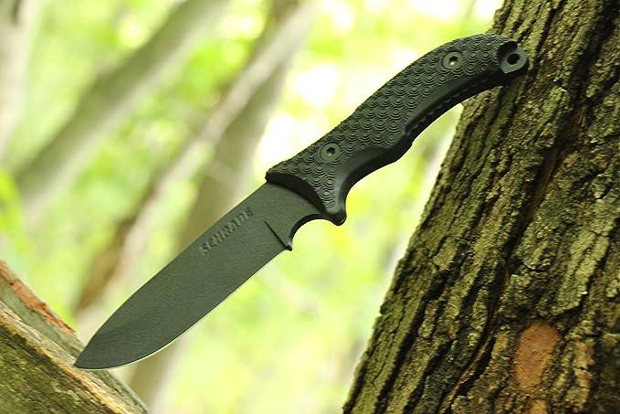 Schrade SCHF36 Cuchillo tascabile, Unisex Adulto, Talla única