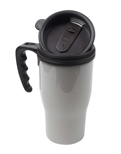 Amazon.com: Fill n Brew Insulated Mug, Plastic, 16 Ounces: Kitchen & Dining
