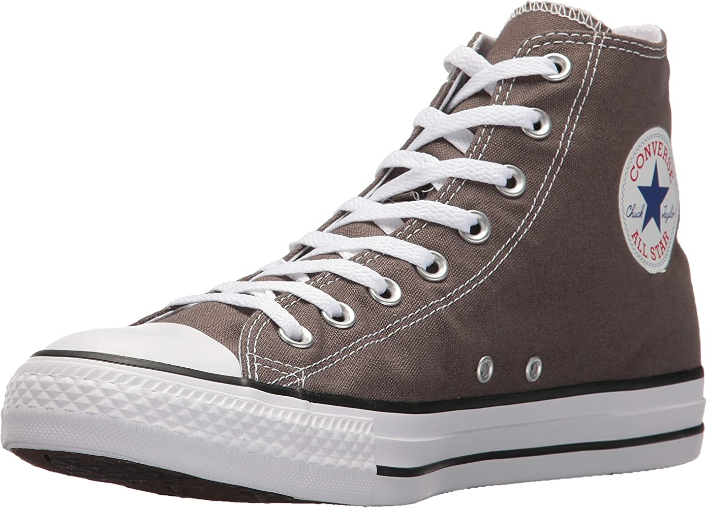 0ae1c30054 CHUCK TAYLOR ALL STAR OX Unisex Charcoal Gray Canvas Sneaker Shoes