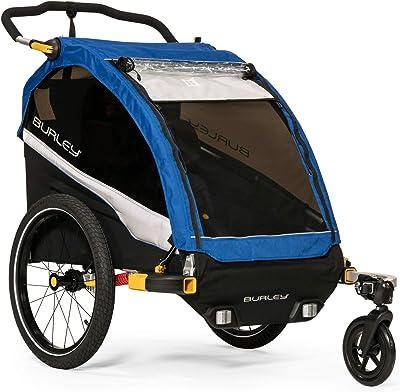 Burley D'Lite 1 And 2 Seat Kids Bike Trailer