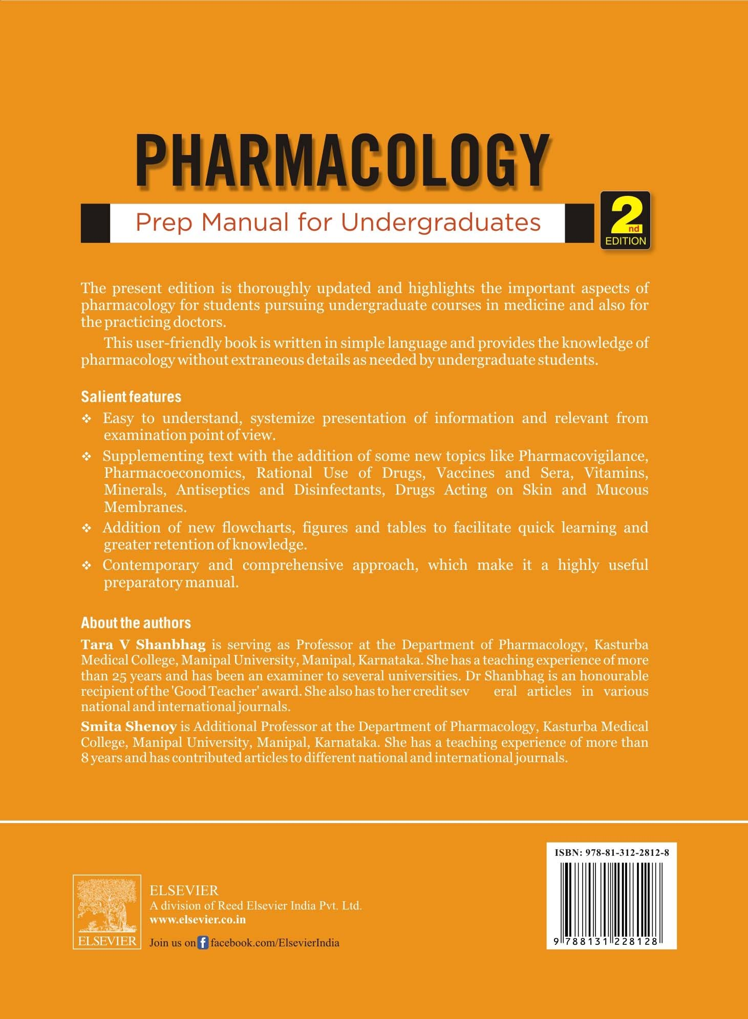 Buy Pharmacology Prep Manual For Undergraduates Old Edition Book