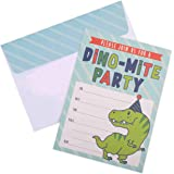 Invitations for Boys Birthday Party - 20 Cards with Envelopes