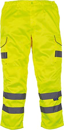 Orange//Green Details about  /DASSY Chicago 200807 Hi-Vis Kneepad Work Trousers