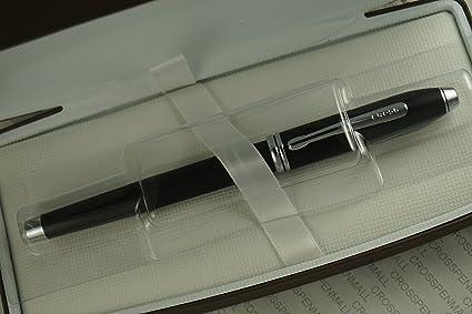 Cross Century II Smooth Touch Matte Black Fountain /& Ballpoint Pen Set  In Box