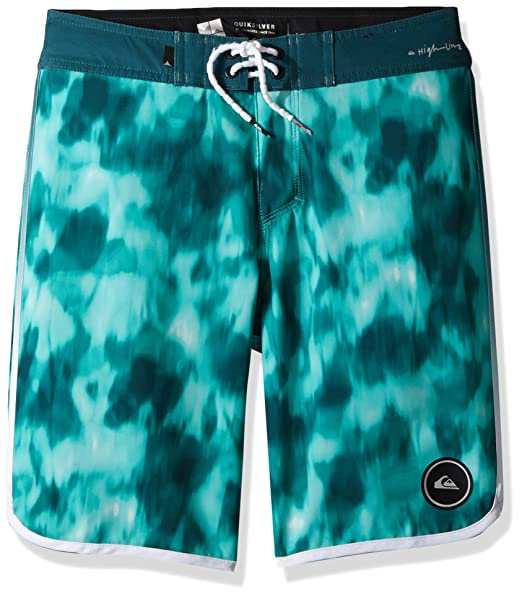 599c3a521df01 Quiksilver Boys' Big Highline Recon Youth Boardshort Swim Trunk, Atlantic  deep, ...