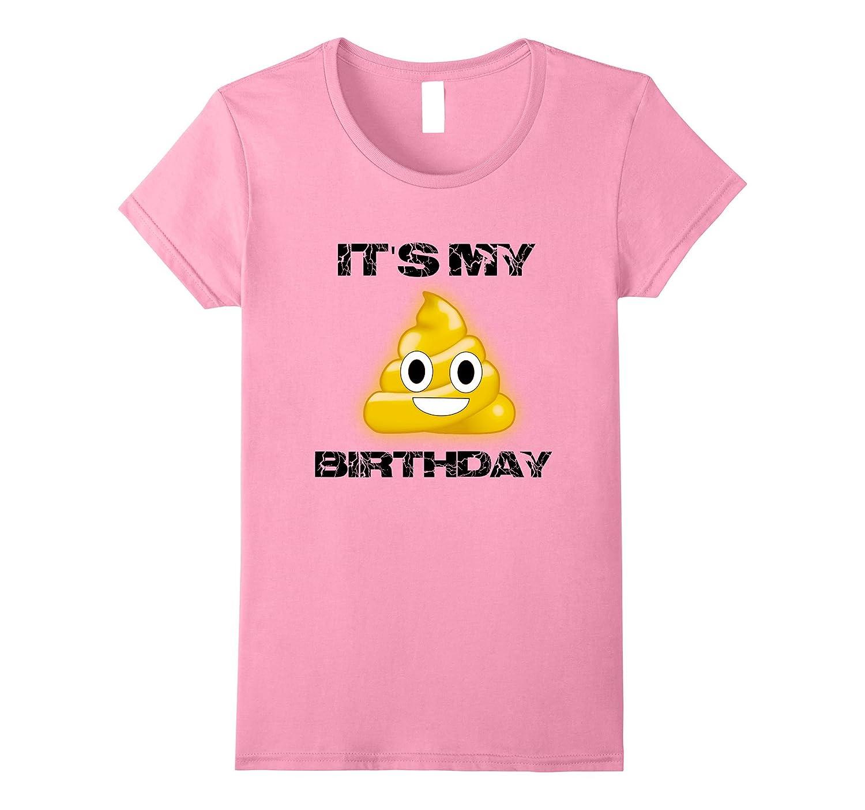 Funny Emoji Poop Face Tee Shirts