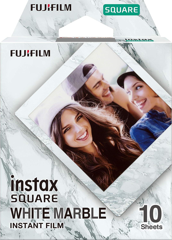 Instax Square Film White Marble Kamera