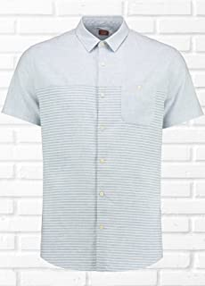 Common People Mens Odele Cut And Sew Shirt