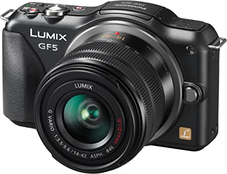 Panasonic Lumix DMC-GF5 - Cámara Evil de 12.1 MP (Pantalla LCD de ...