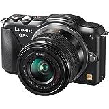 Panasonic DMC-GF5K Fotocamera Mirorless, Standard Lens Kit, 12 MP, Schermo 3 Pollici Touch, Full HD con Obiettivo 14-42 mm, Nero