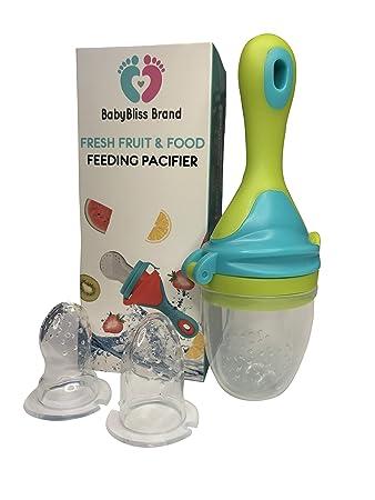 Amazon.com: babybliss alimentador de marca bebé chupete para ...