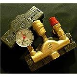 Válvula de seguridad de latón para calderas cerradas (cumple DIN4751, hasta 50 kW)