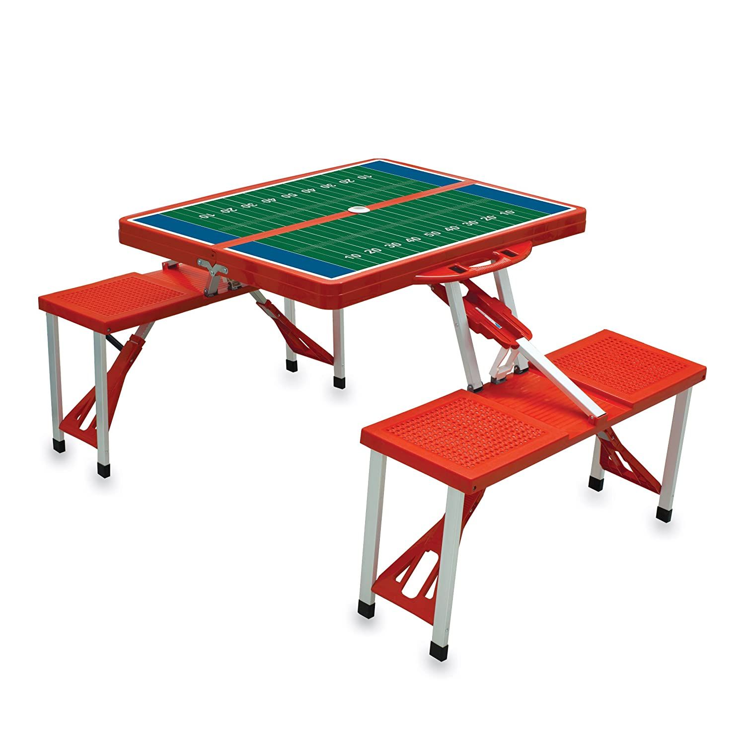 Amazon Picnic Time Portable Folding Picnic Table with