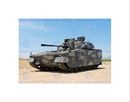 Amazon com: Photo Military Tank Armoured Vehicle Gun Tracks USA Art