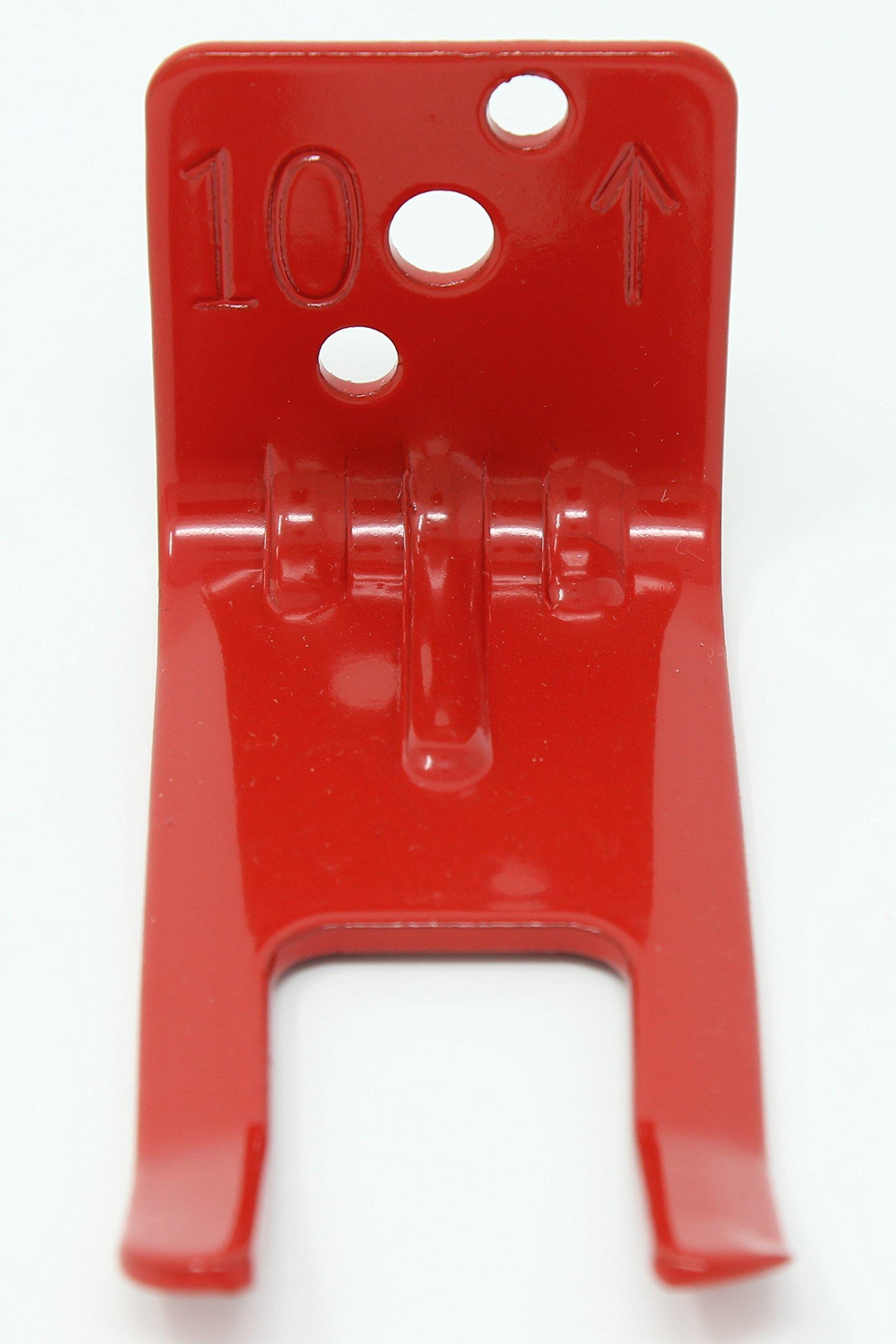 Fire Extinguisher Wall Mount - Fork Style Bracket (3, Large) by Extinguisher Experts (Image #3)