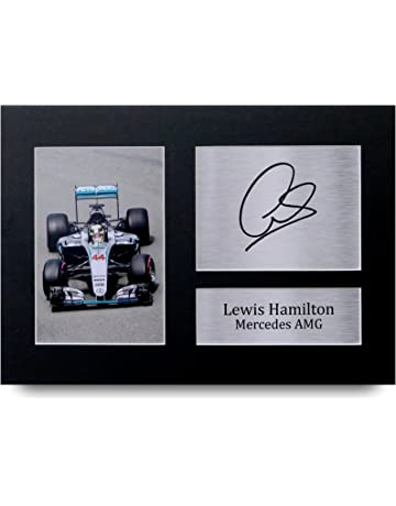 HWC Trading Lewis Hamilton Gift Signed A4 Printed Autograph Mercedes F1  Gifts Print Photo Picture Display 70e74ed26b5f1