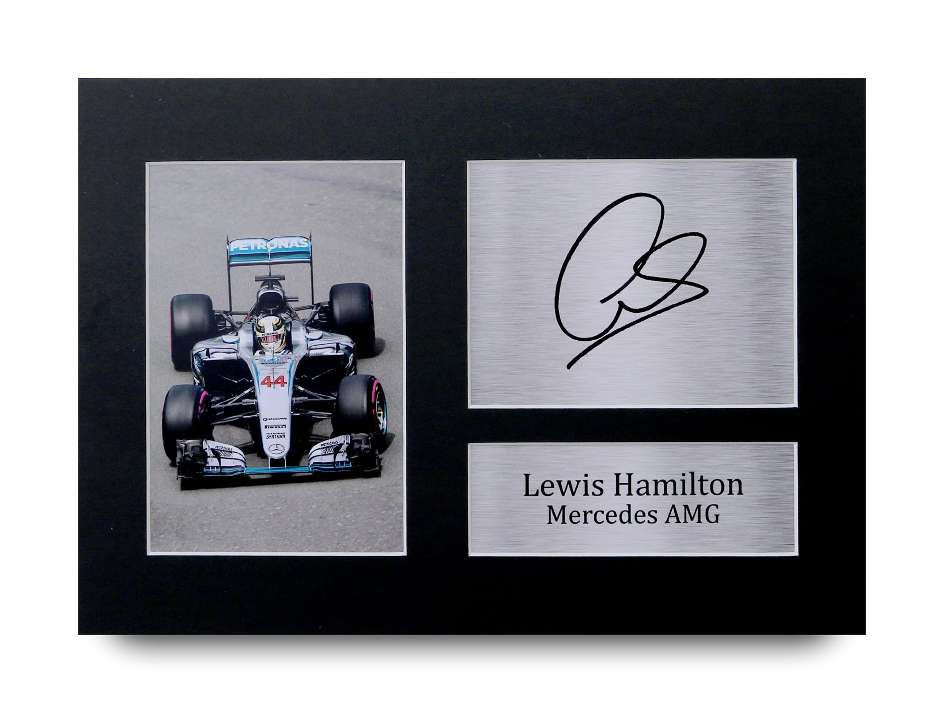 HWC Trading Lewis Hamilton Gift Signed A4 Printed Autograph Mercedes F1  Gifts Print Photo Picture Display ca4404164a0