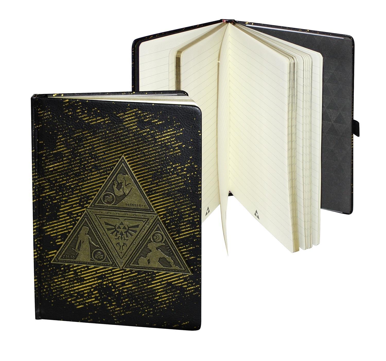 1x F/üller 1x Schl/üsselanh/änger Set 1x Notizbuch The Legend of Zelda Schreibwaren 7 tlg 1x Metallschachtel 3x Abzeichen