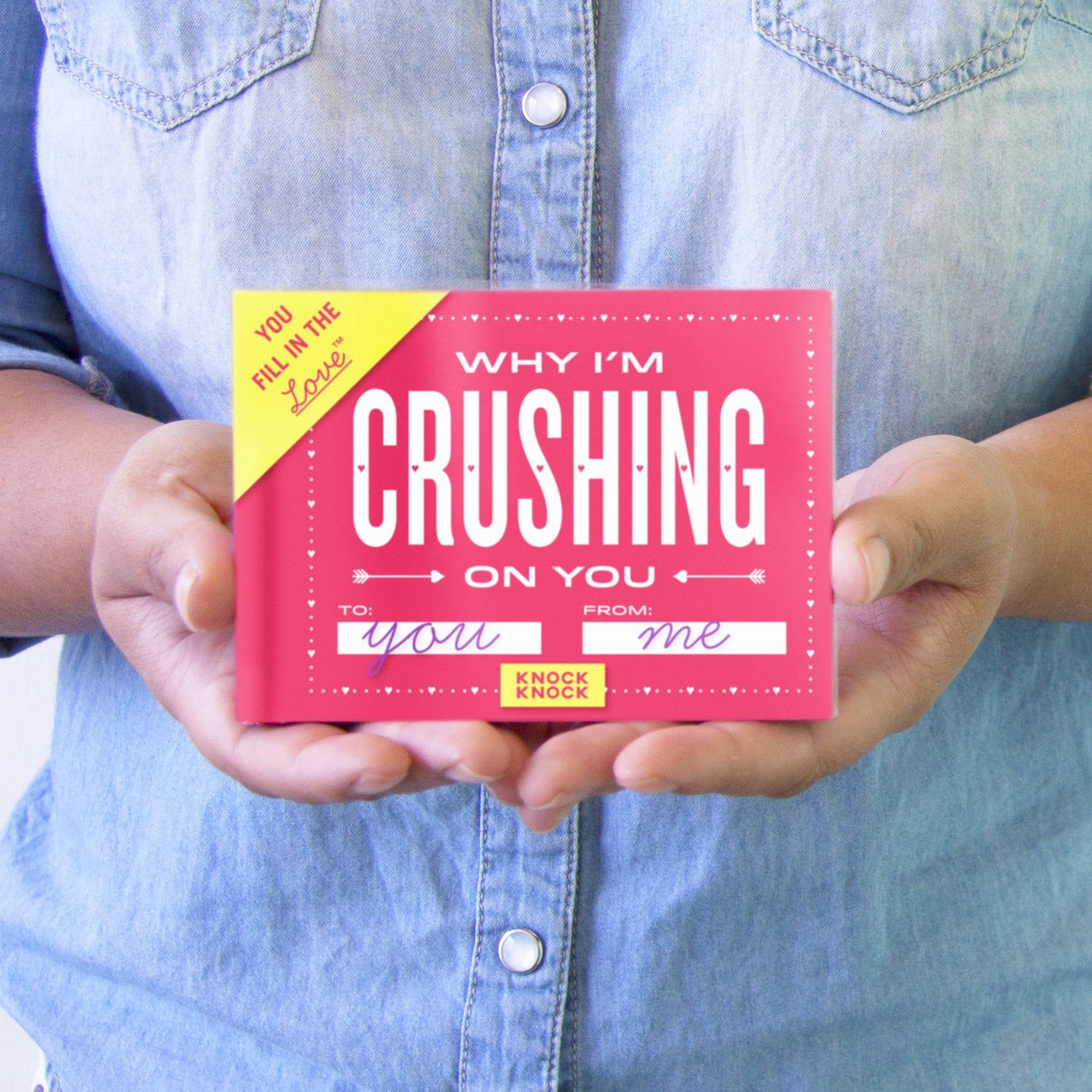 Knock Knock Why I'm Crushing on You Fill in the Love Journal by Knock Knock (Image #6)