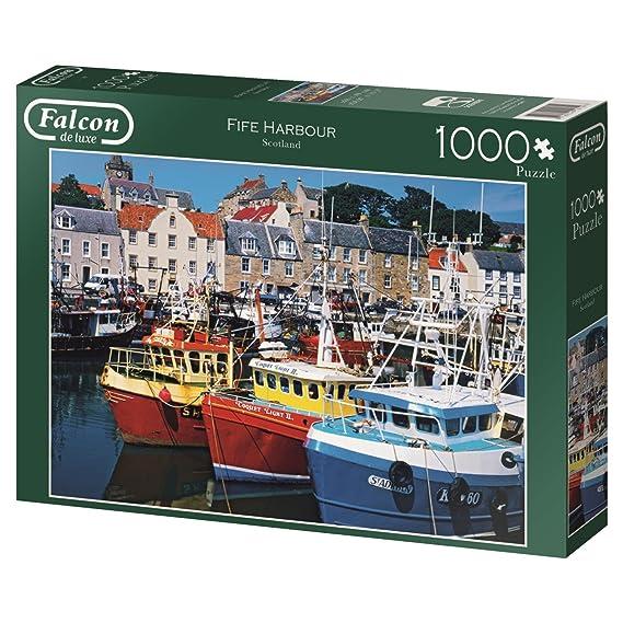 Falcon Deluxe Fife Harbour Rompecabezas 1000 Piezas