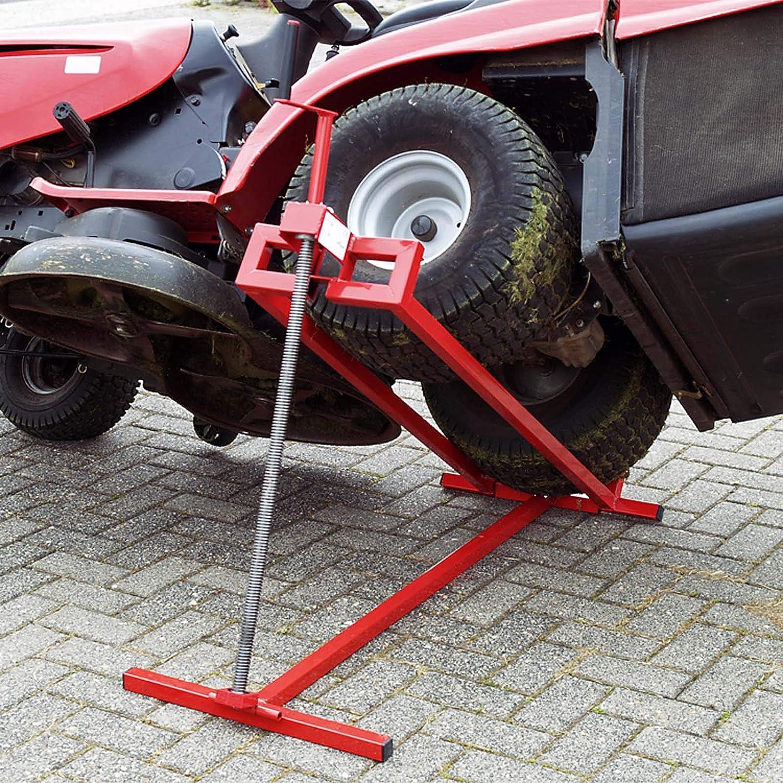 WilTec Dispositivo Elevador cortacésped Quad Tractor pequeño máx ...