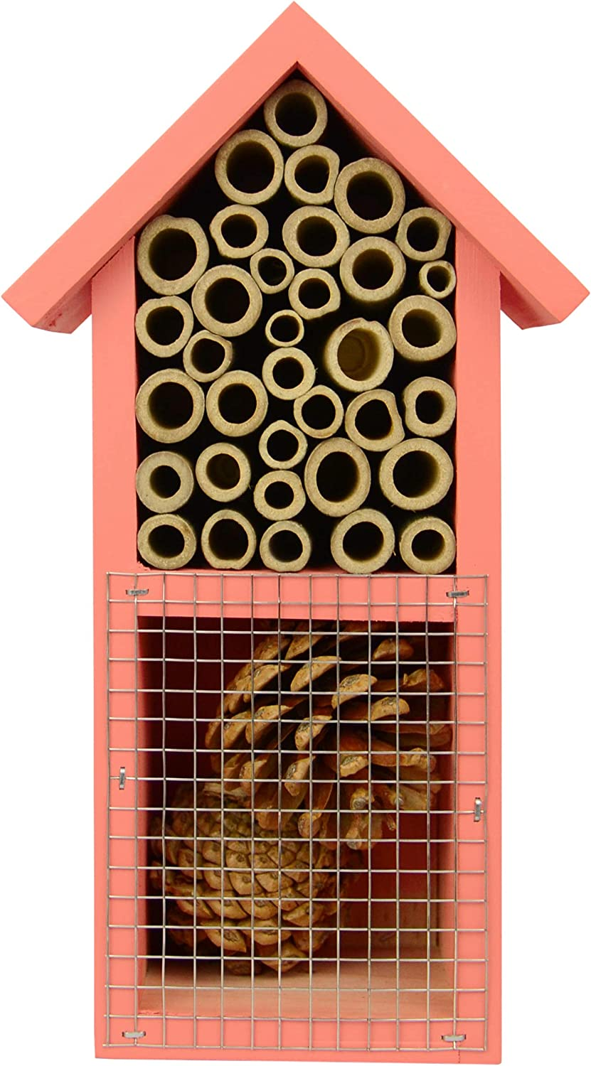 Nature's Way Bird Products PWH2-B Dual Chamber Red Insect House