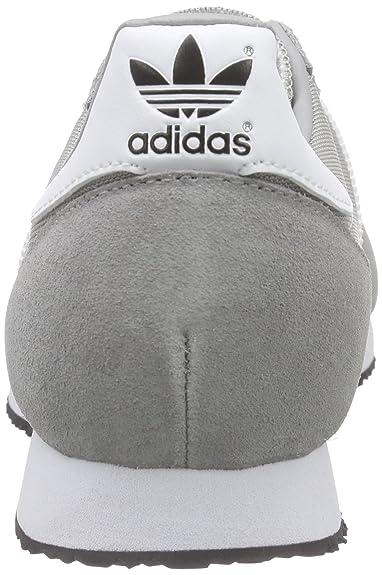 Herren Laufschuhe Racer Solid White Graumgh Adidas Zx Greyftwr Onw0Pk