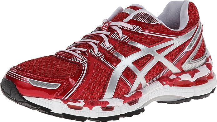 Asics Gel Kayano 19 Zapatilla De Running De La Mujer Rojo Shoes