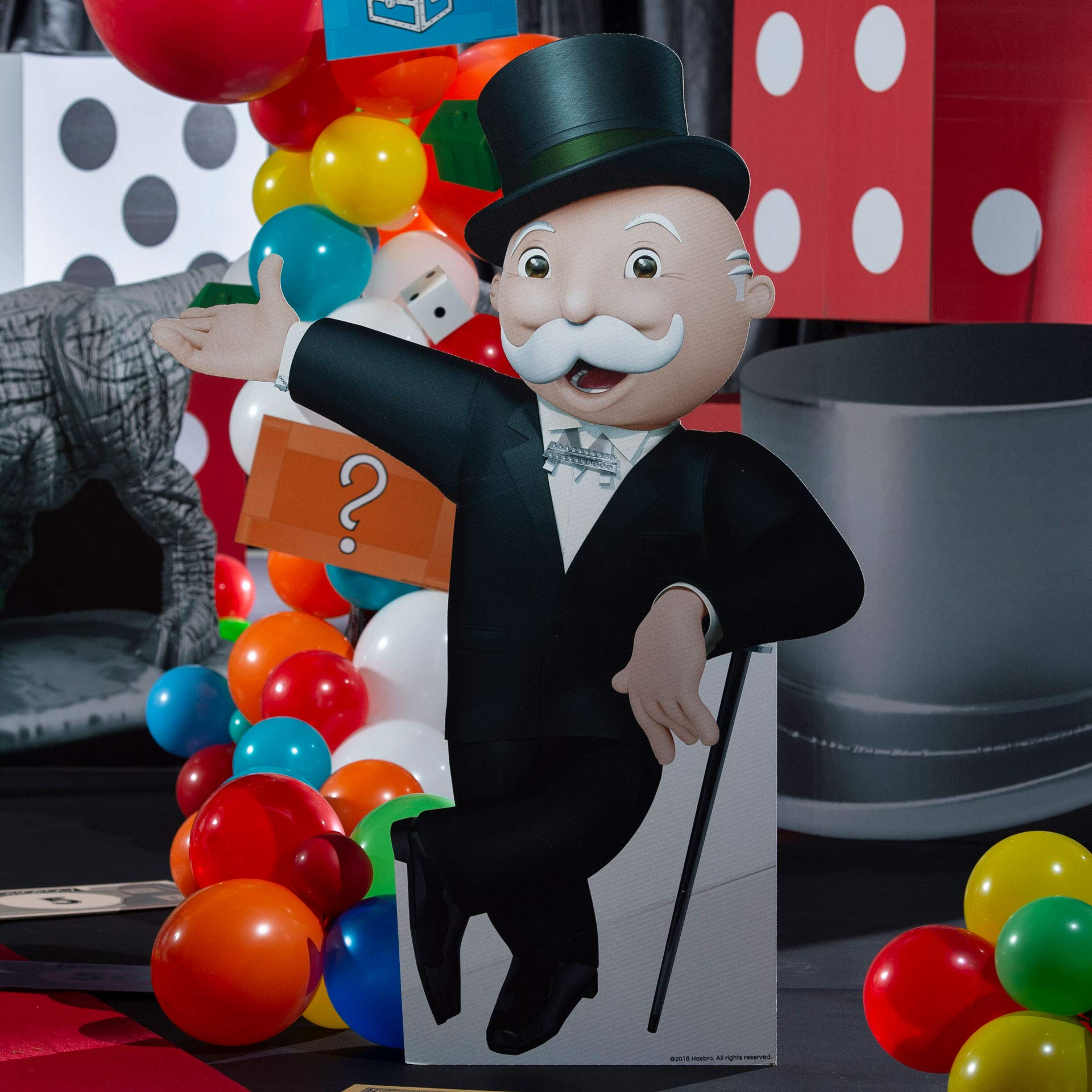 4 ft. 7 in. Classic Mr. Monopoly Game Piece Standee
