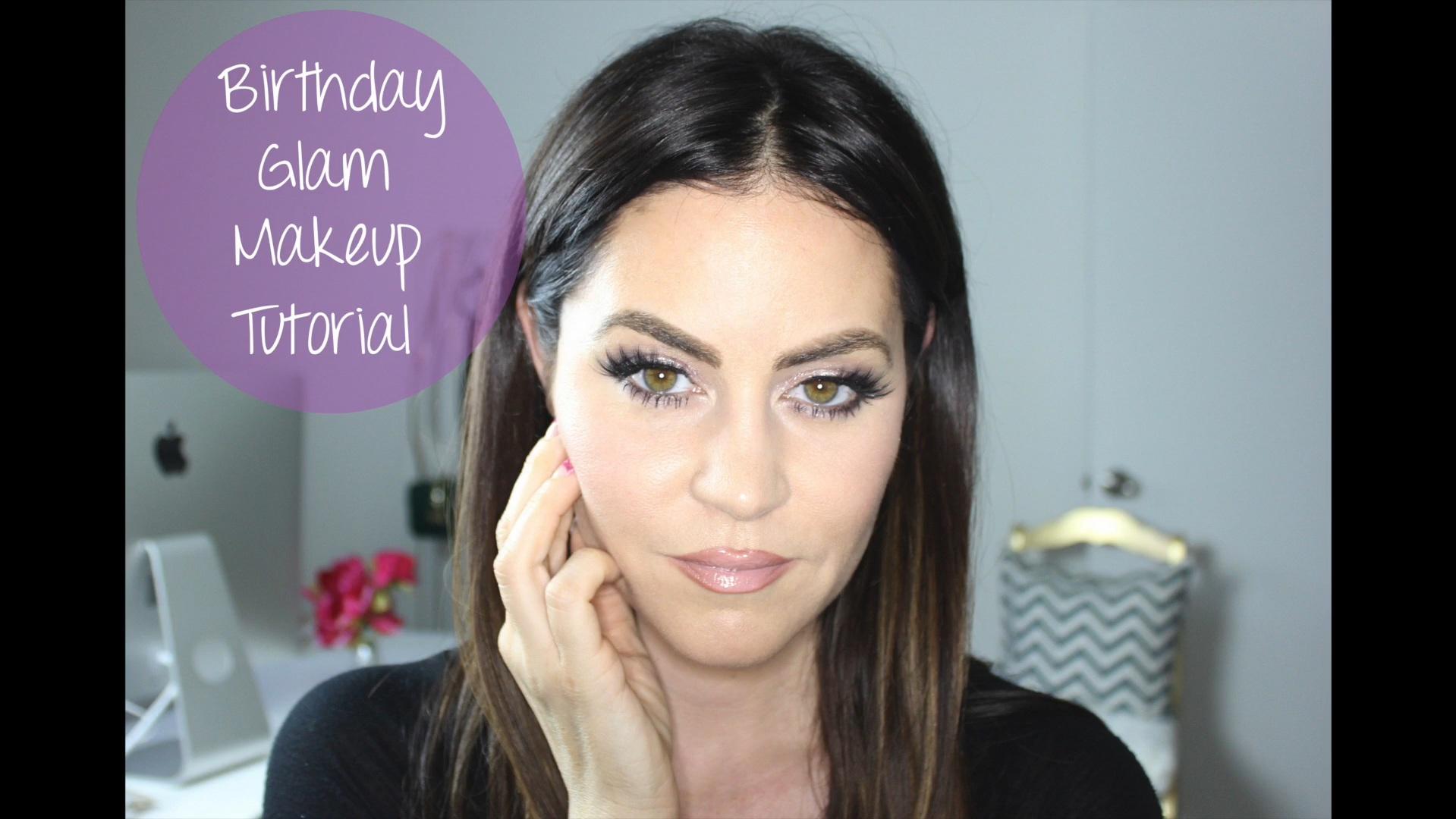 Birthday Glam Eye Makeup Tutorial