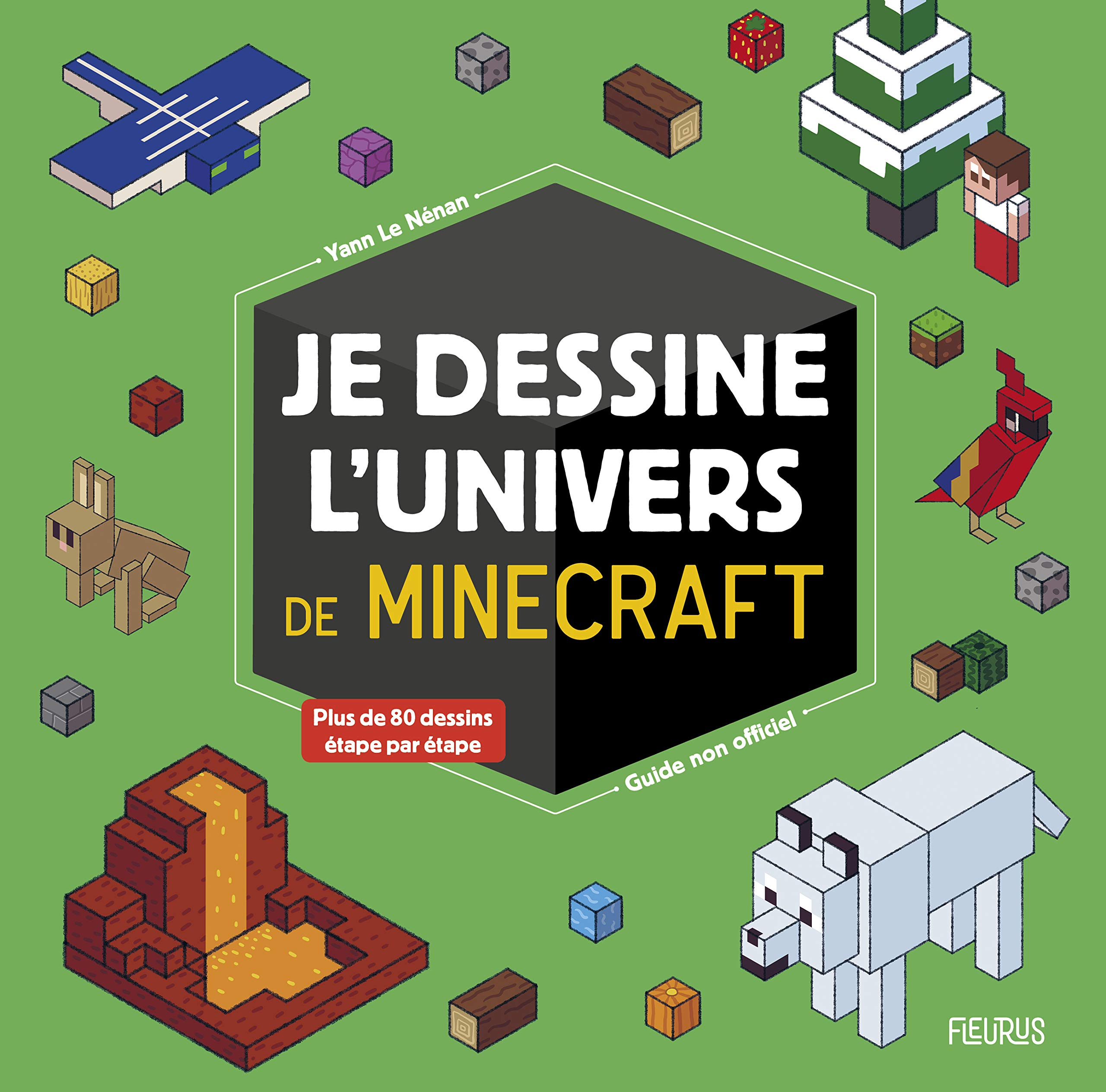 Amazonfr Je Dessine Lunivers De Minecraft Guide Non