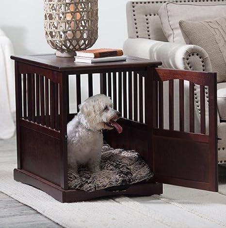 Amazon.com: New Pet Crate Final Tabla Jaula Jaula Muebles ...