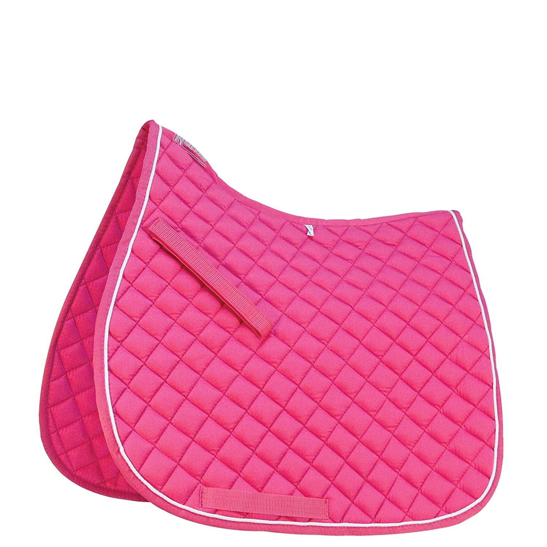 Roma Grand Prix marchitan multiusos silla alta rosa y blanco Talla:Pony