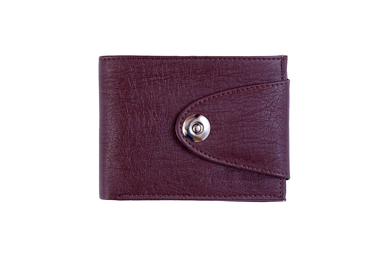 Trendy Trotters Men,s Brown Leather 2 Fold Pocket Wallet
