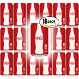 Coca-Cola, 7.5 Fl Oz Mini Can (Pack of 18, Total of 135 Oz)